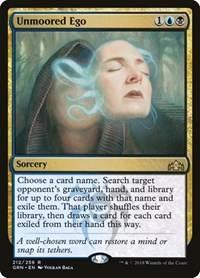Unmoored Ego, Magic: The Gathering, Guilds of Ravnica