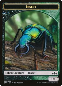 Insect Token, Magic: The Gathering, Guilds of Ravnica