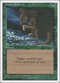 Giant Growth, Magic, Fourth Edition