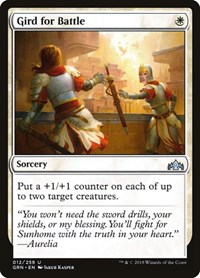 Gird for Battle, Magic: The Gathering, Guilds of Ravnica