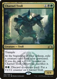Charnel Troll, Magic: The Gathering, Guilds of Ravnica