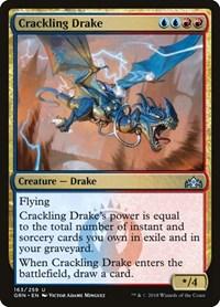 Crackling Drake, Magic: The Gathering, Guilds of Ravnica