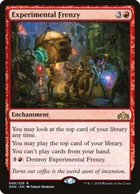 Experimental Frenzy, Magic: The Gathering, Guilds of Ravnica
