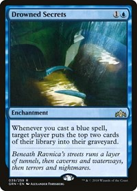 Drowned Secrets, Magic: The Gathering, Guilds of Ravnica