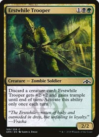 Erstwhile Trooper, Magic: The Gathering, Guilds of Ravnica