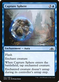 Capture Sphere, Magic: The Gathering, Guilds of Ravnica
