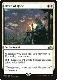 Dawn of Hope, Magic: The Gathering, Guilds of Ravnica