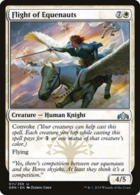 Flight of Equenauts, Magic: The Gathering, Guilds of Ravnica