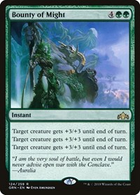 Bounty of Might, Magic: The Gathering, Guilds of Ravnica
