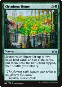 Circuitous Route, Magic: The Gathering, Guilds of Ravnica