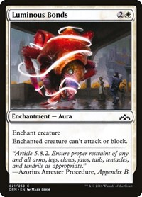 Luminous Bonds, Magic: The Gathering, Guilds of Ravnica