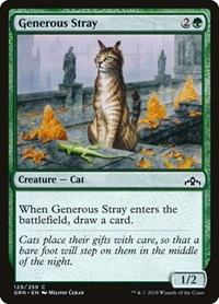 Generous Stray, Magic: The Gathering, Guilds of Ravnica