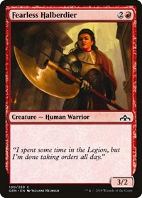 Fearless Halberdier, Magic: The Gathering, Guilds of Ravnica