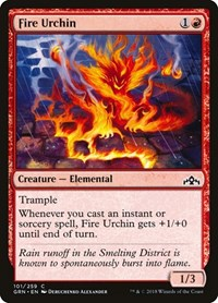 Fire Urchin, Magic: The Gathering, Guilds of Ravnica