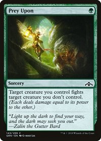 Prey Upon, Magic: The Gathering, Guilds of Ravnica