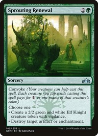 Sprouting Renewal, Magic: The Gathering, Guilds of Ravnica
