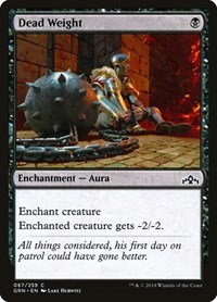 Dead Weight, Magic: The Gathering, Guilds of Ravnica