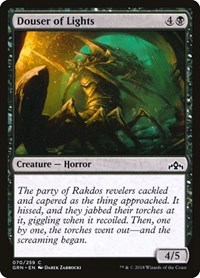 Douser of Lights, Magic: The Gathering, Guilds of Ravnica