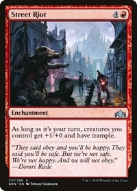Street Riot, Magic: The Gathering, Guilds of Ravnica