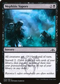 Mephitic Vapors, Magic: The Gathering, Guilds of Ravnica