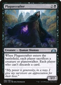 Plaguecrafter, Magic: The Gathering, Guilds of Ravnica
