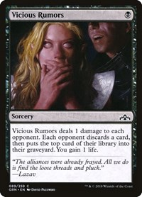 Vicious Rumors, Magic: The Gathering, Guilds of Ravnica