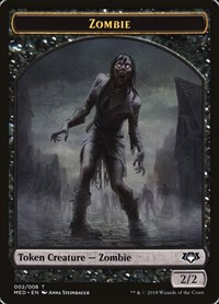 Zombie Token, Magic: The Gathering, Mythic Edition: Guilds of Ravnica