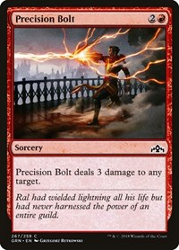 Precision Bolt, Magic: The Gathering, Guilds of Ravnica