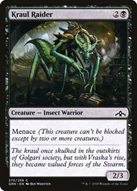 Kraul Raider, Magic: The Gathering, Guilds of Ravnica