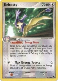 Delcatty (EX Power Keepers), Pokemon, Deck Exclusives