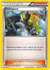 Delinquent - 98a/122, Pokemon, Alternate Art Promos