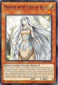 Maiden with Eyes of Blue, YuGiOh, Legendary Duelists: White Dragon Abyss