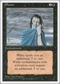 Gloom, Magic: The Gathering, Fourth Edition