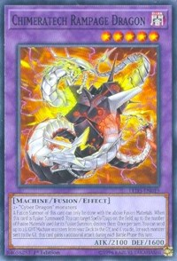 Chimeratech Rampage Dragon, YuGiOh, Legendary Duelists: White Dragon Abyss