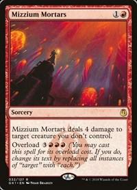Mizzium Mortars, Magic: The Gathering, Guilds of Ravnica: Guild Kits