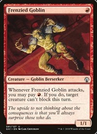 Frenzied Goblin, Magic: The Gathering, Guilds of Ravnica: Guild Kits