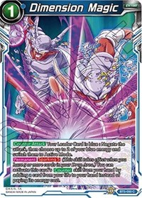 Dimension Magic, Dragon Ball Super CCG, Miraculous Revival