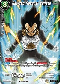 Revived Ravager Vegeta, Dragon Ball Super CCG, Promotion Cards