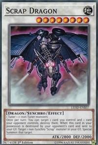 Scrap Dragon, YuGiOh, Legendary Hero Decks
