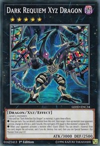 Dark Requiem Xyz Dragon, YuGiOh, Legendary Hero Decks