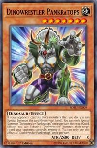 Dinowrestler Pankratops, YuGiOh, Soul Fusion