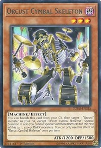 Orcust Cymbal Skeleton, YuGiOh, Soul Fusion