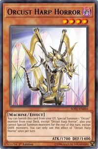 Orcust Harp Horror, YuGiOh, Soul Fusion