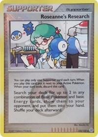 Roseanne's Research (League Promos), Pokemon, League & Championship Cards
