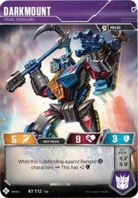 Darkmount - Cruel Overlord, Transformers TCG, Wave 1