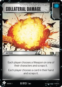 Collateral Damage, Transformers TCG, Wave 1
