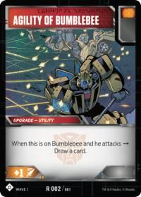 Agility of Bumblebee, Transformers TCG, Wave 1