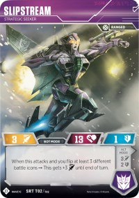 Slipstream - Strategic Seeker (SDCC 2018 Exclusive), Transformers TCG, Wave 1