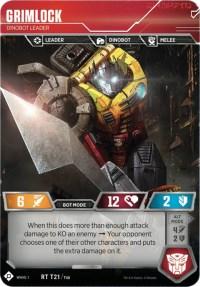 Grimlock - Dinobot Leader (Foil)
