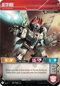 Jetfire - Air Guardian, Transformers TCG, Wave 1